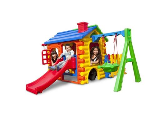 Playground - Chalé Royale Gold com Cerquinha e Kit Fly