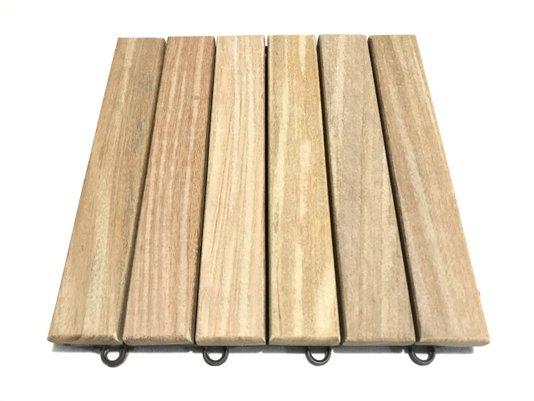 deck de madeira ( 6 ripas)