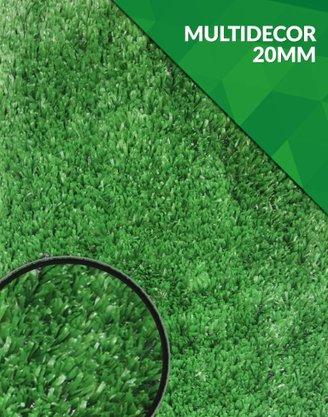 Grama Sintética - Multidecor 20mm - m²