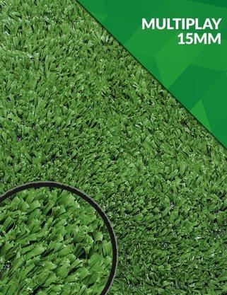 Grama Sintética - Multiplay 15mm - m²