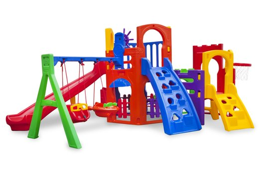 Playground - Multiplay Petit + Play House + Kit Fly Duplo
