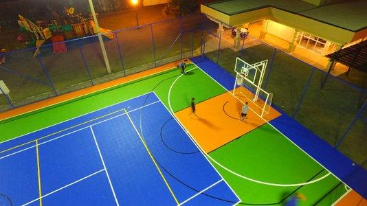Quadra Poliesportiva Piso Modular Externo  - m²