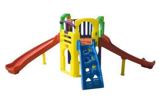 Playground - Royal Play - C/2 escorregadores curvo