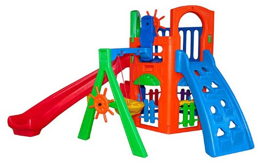 Playground - Royal play house C/kit fly