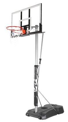 Tabela de Basquete Spalding - NBA 52 - Silver c/ suporte e base