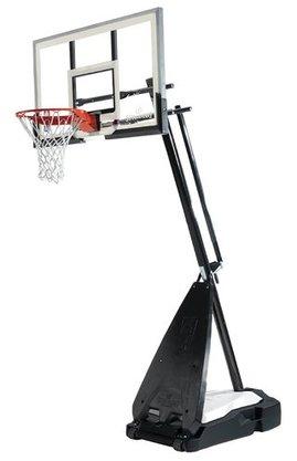 Tabela de Basquete Spalding- NBA 54 - Hybrid Pro c/ suporte e base - Vidro
